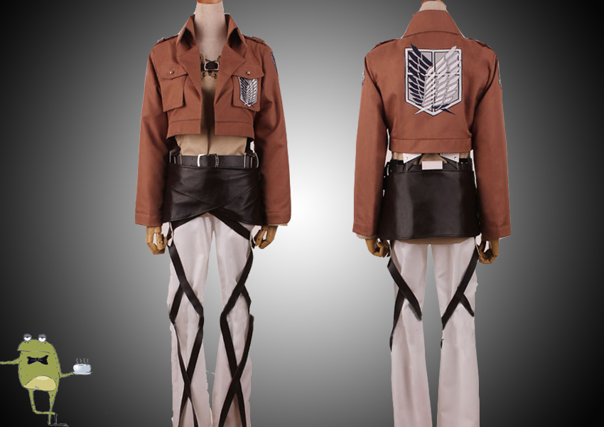 Attack on Titan Eren Jaeger Cosplay Costume
