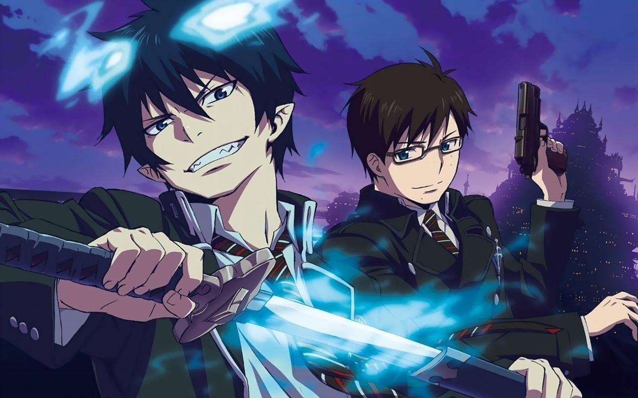 Ao no Exorcist Okumura Rin and Yukio